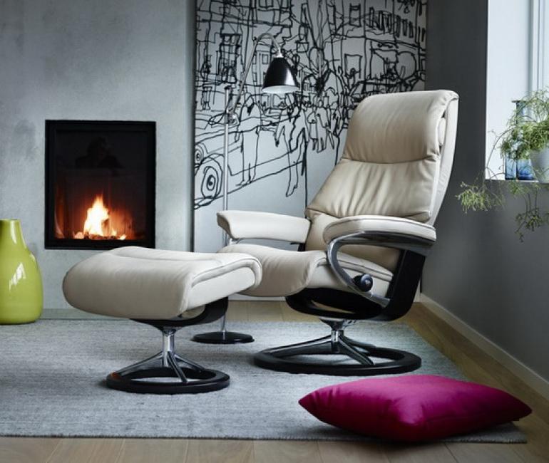 stressless view bequemsessel von 180 auf wolke 7. Black Bedroom Furniture Sets. Home Design Ideas