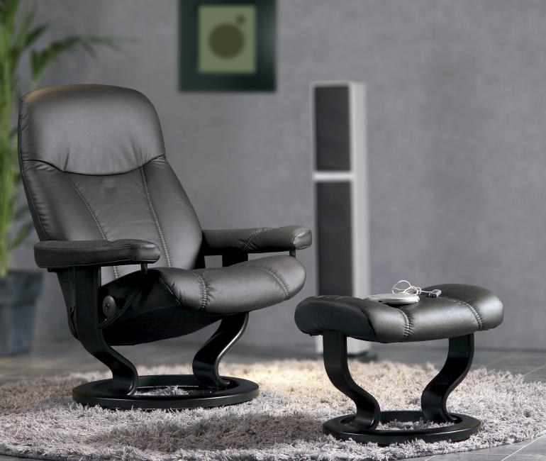 stressless consul s m l bequemsessel von 180 auf wolke 7. Black Bedroom Furniture Sets. Home Design Ideas