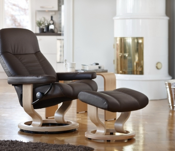 Stressless Consul mit Hocker – Large
